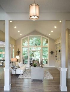 Vaulted Great Room of this beautiful      4354 |Beautiful Living Spaces|