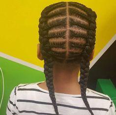 Fantastic Braids Natural Hair Cornrows Protective Styles Kids Girls Short Hairstyles For Black Women Fulllsitofus