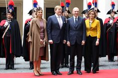Queen Maxima Photos - King Willem-Alexander and Queen Maxima in Rome - Zimbio