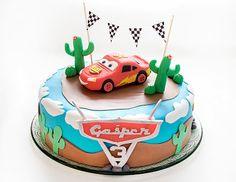 Lightning Mcqueen cake by easy-recepti.blogspot.com