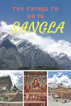 Top things to do in a day in Sangla Valley, Himachal Pradesh, India. #india #himachal #sangla #travel #thewanderingcore