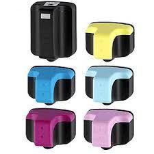 HP 363XL Cartucho Tinta Compatible Pack 14 Cartuchos  Cartuchos de tinta genérico  HP 363  de alta calidad.  Pack 14 cartuchos 4 negro y 2 de cada color (cian, magenta, yellow, light cian y light magenta)