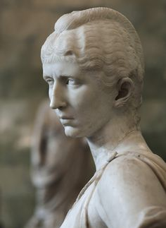Portrait of Cornelia Salonina, wife of the emperor Gallienus. Detail. Marble. Ca. mid-3rd century A.D. Inv. No. A 29. Saint-Petersburg, The State Hermitage Museum. Photo by S. Sosnovskiy.