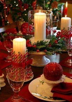 Decoracion navideña clasica.