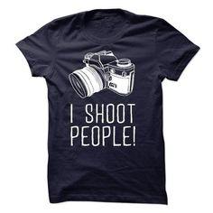 I shoot people T Shirts, Hoodies. Check price ==► https://www.sunfrog.com/Hobby/I-shoot-people-29440673-Guys.html?41382 $20.99