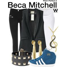 Inspired by Anna Kendrick as Beca Mitchell in 2015's Pitch Perfect 2.