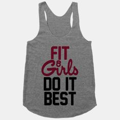 Fit Girls Do It Best #fit #girls #pink #workout #gym #exercise #fitness
