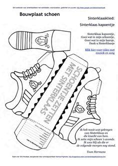 Bouwplaat schoen