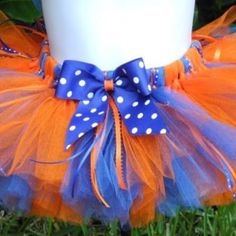 Thunder up!!!! I'm totally making this tutu for this years b-ball season!