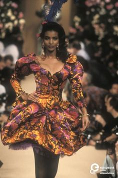 Yves Saint Laurent, Spring-Summer 1990, Couture | Yves Saint Laurent (designer) - Europeana