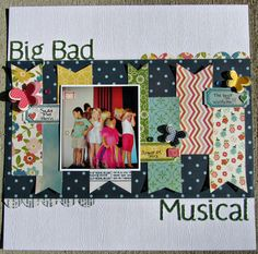 Big Bad Musical by flscrapper at Studio Calico
