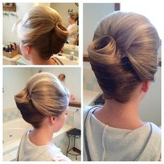 Bridal hairstyling by Stephanie Strowbridge
