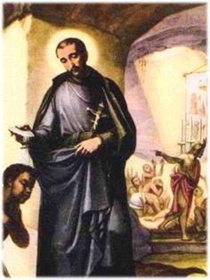 SAN PEDRO CLAVER, apóstol de los esclavos negros.