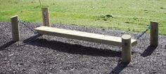 Childs-Garden-Playground-Trim-Trail-Wobble-Balance-Board