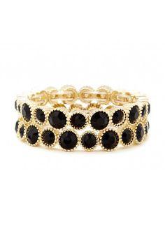 Stone Stretch Bracelet Set. WANT!!