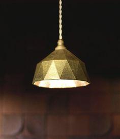 明星 pendant lamp by Oji Masanori.