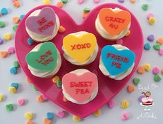 Valentine's Cupcake Toppers. {Tutorial}