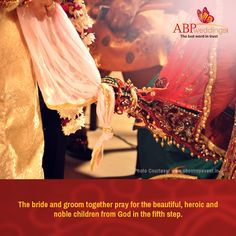 পঞ্চম পাক । #ABPweddingsTrivia Wedding Trivia, Wedding Knot, Bengali Wedding, Wedding Rituals, Groom, Bride, Children, Beautiful, Wedding Bride