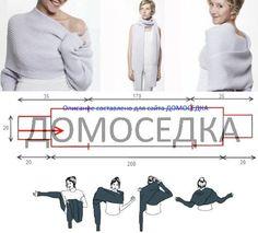 Sencilla, práctica, una prenda muy fácil de realizar. El patrón lo encontré aquí pero está en ruso por lo que es imposible para mí tradu...