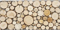decorative wood panels / fire place decor