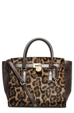 My precious! MICHAEL Michael Kors 'Large Hamilton - Traveler' Calf Hair & Leather Tote available at #Nordstrom