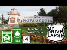 Trans Canada Drive from Moncton into Nova Scotia, and beyond - YouTube