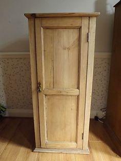 Handsome Handmade English Pine 4 Door over 8 Drawer Cupboard ...