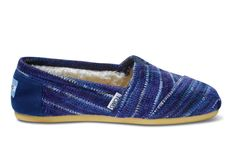 Indigo Stripe Knit Women's Classics http://www.toms.com/back-to-school-sale/indigo-knit-womens-classics