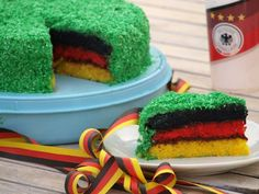 Fußball-Kuchen Deutschland: Der Hit auf jeder Fußball-Party