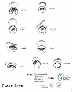 pixar characters eye - Google Search
