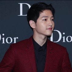 160422 Song Joong Ki Homme Dior Fashion Show at HongKong