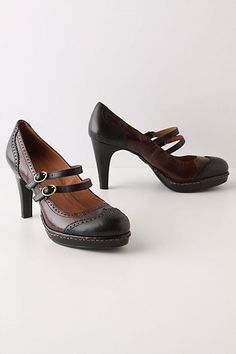 I so love these Wingtip Mary-Janes from Anthropologie!