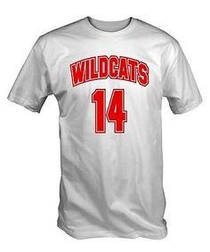 8e7730c6170a #Wildcats 14 #tshirt tee #tshirt high school musical bolton troy east  #basketball