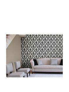 Astek Wall Coverings Set of 2 Heirloom Damask Wall Tiles, Charcoal, http://www.myhabit.com/redirect/ref=qd_sw_dp_pi_li?url=http%3A%2F%2Fwww.myhabit.com%2Fdp%2FB00FZN7X16