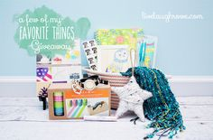 i would be super excited to win this awesome gift basket from live laugh rowe!