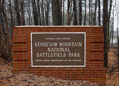 Wish I'd got a stamp as a kid.  Have to go back and get it.  Sweet Southern Days: Kennesaw Mountain National Battlefield Park