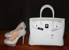 hermés birkin and louboutin heels #shoeporn #bagporn #perfectpairings