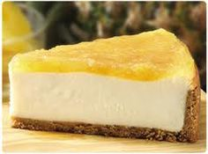 Satisfy your sweet tooth with Low Fat Pineapple Cheesecake