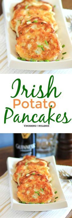 Potato Pancakes for St. Patrick's Day Recipe