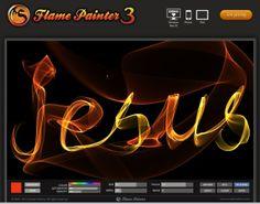 Flame Painter Pentecost Sunday School Craft