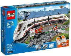Lego City 60051 – Hochgeschwindigkeitszug - happy-e-shopping