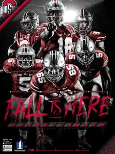 2016 Ohio State Football Poster