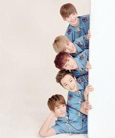 One Junn, Sungjun, Minsu, Suwoong and Dabin