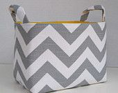 @Jessica Siegelin...I am sorry but I had to pin this for you!  I love it! Chevron Bag/Bin