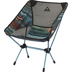 Deep Blue Portable 3 Legs Chair Tripod Seat for Outdoor Hiking Fishing Picnic Travel Beach BBQ Garden Lawn with Strap Oxford Cloth Small Size Flexzion Camping Folding Stool