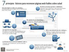 7 consejos para identificar webs fiables sobre salud #infografia