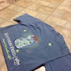 SOUTHERN FRIED COTTON SHIRT Reposh!!! PacSun Tops Tees - Short Sleeve