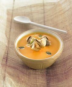 Crema de calabaza y portobello | Delicooks | Good Food Good Life