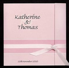 This wedding invitation design shown here in pink is also available in other colours.www.kardella.com Bling Wedding Invitations, Wedding Invitations Australia, Beautiful Wedding Invitations, Wedding Stationery, Wedding Planner, Destination Wedding, Wedding Speeches, Wedding Songs, Wedding Wishes