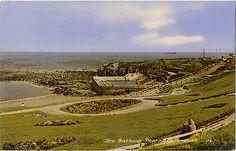 Postcard of The Bathing Pool, Tynemouth 1963